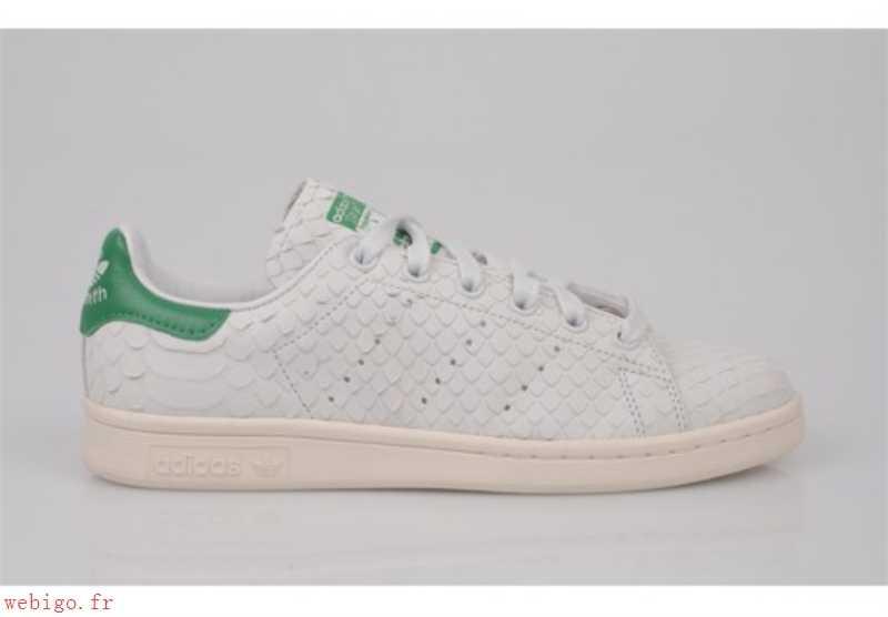 adidas stan smith blanche croco