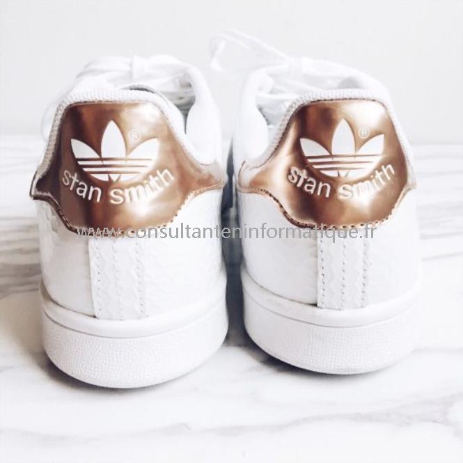 adidas stan smith or rose