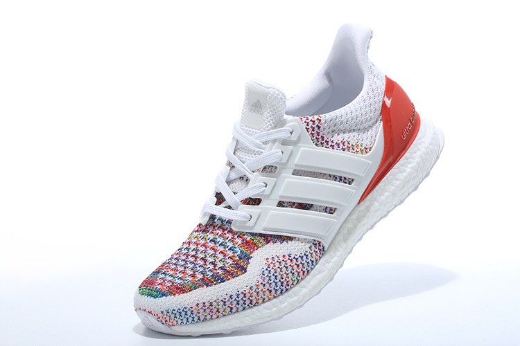 adidas ultra boost rouge et blanche