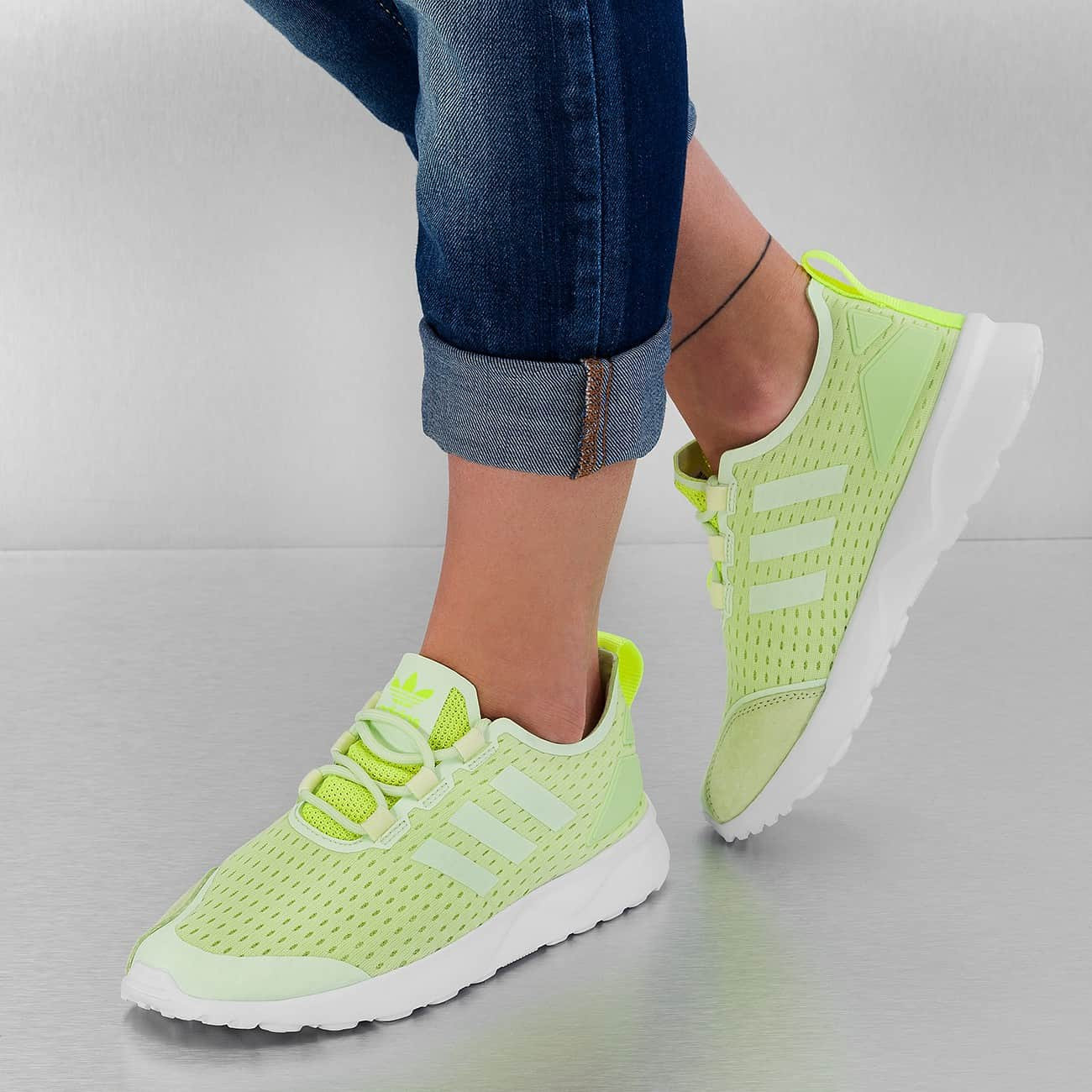 purchase cheap acd68 86c5f adidas zx flux verve femme 1