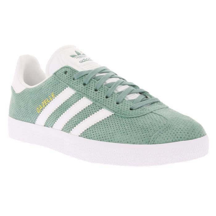 chaussures adidas femme verte