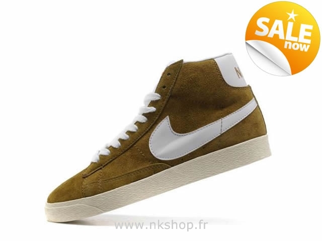 buy popular 986dc d222a nike blazer high suede pas cher